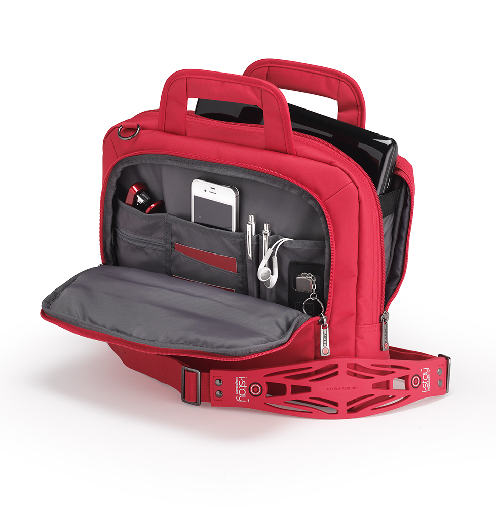 13.3 inch netbook bag red