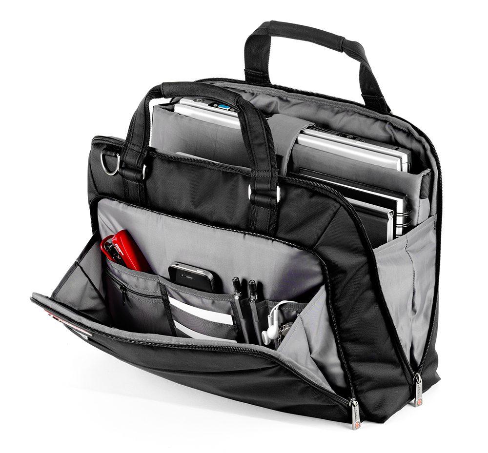 15.6 inch ladies black laptop bag