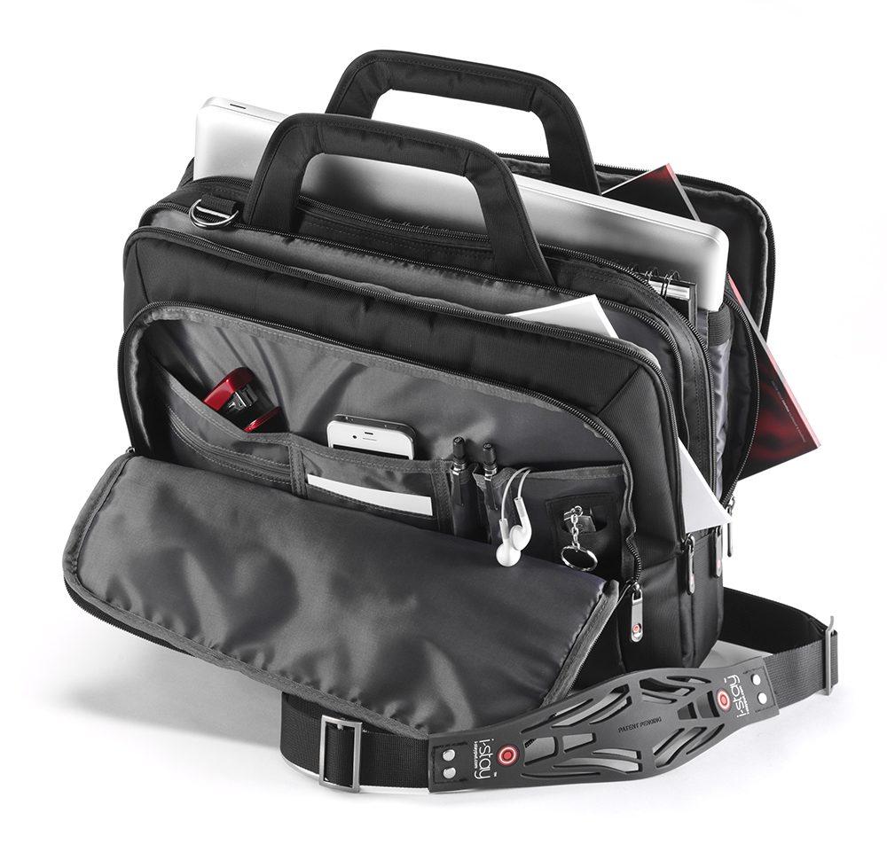 """I-stay 15.6"""" laptop Organiser Bag Black"""