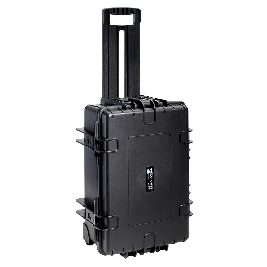 B/&W International 5000//B//RPD 5000 Outdoor Case with RPD Insert Durable Type Black