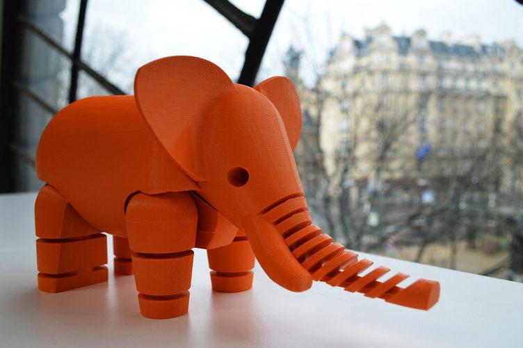 3D Printed Elephant