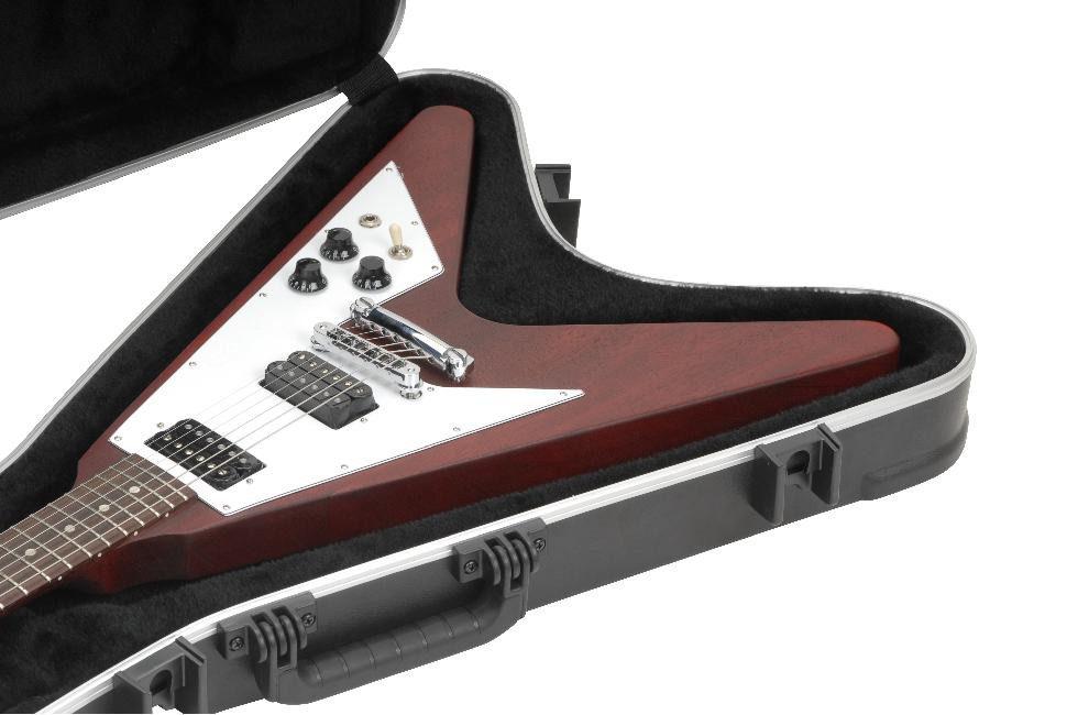 skb flying v hardshell guitar case 1skb 58 cases2go. Black Bedroom Furniture Sets. Home Design Ideas