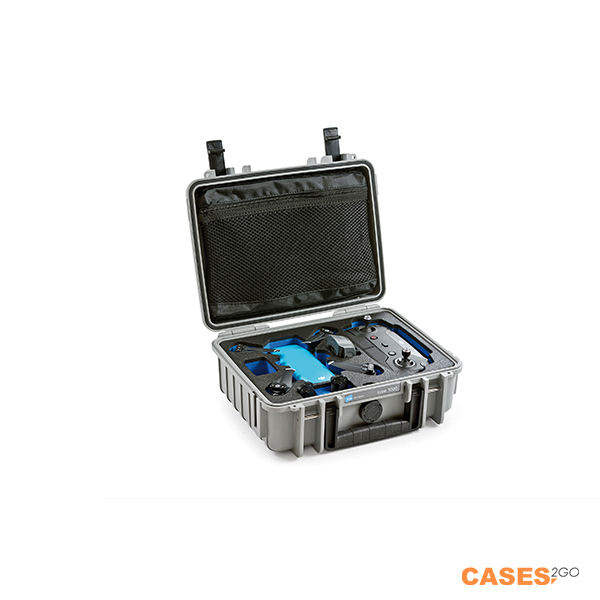 B&W DJI Spark Case type 1000 Case Grey