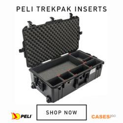 Peli Case with Trekpak Inserts